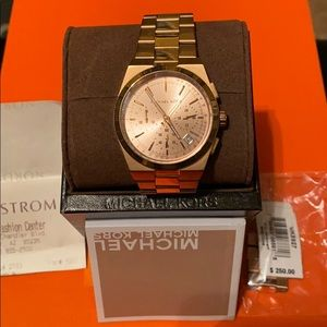 Women's Michael Kors Rose Gold Watch